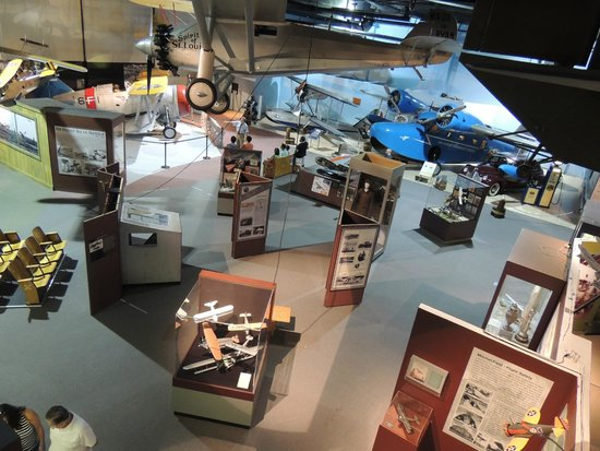 Cradle of Aviation Museum: View from the 2nd floor