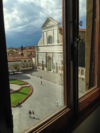 Rosso 23: Vista dalla Camera Doppia Superior Vista