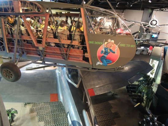 Cradle of Aviation Museum: Model of the Glider