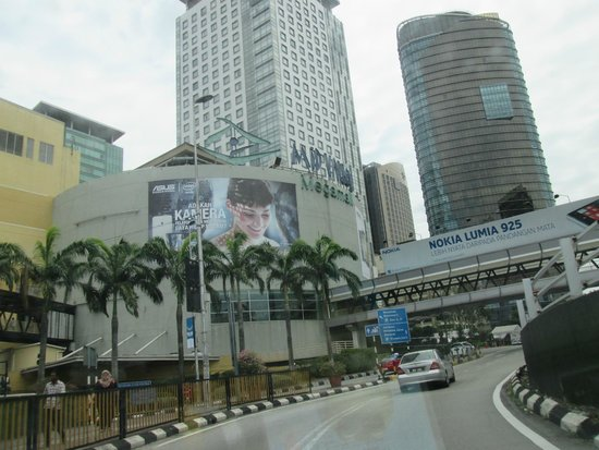 Mid Valley Megamall: Mall from a distance