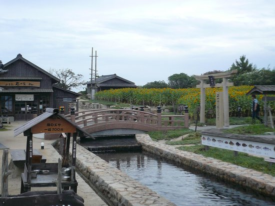 Movie Village of 24-no-Hitomi: 園内の一部