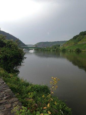 Hotel Lellmann: Вид из номера на реку Mosel