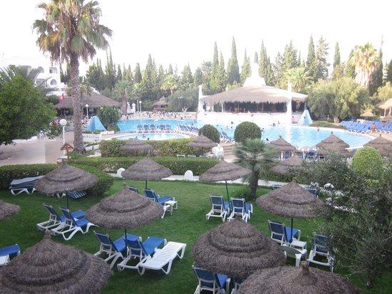 Hammamet Garden Resort & Spa: Vista piscina principale