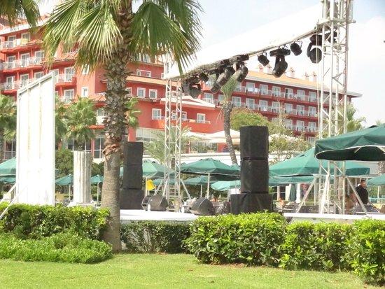 IC Hotels Santai: Le petit podium