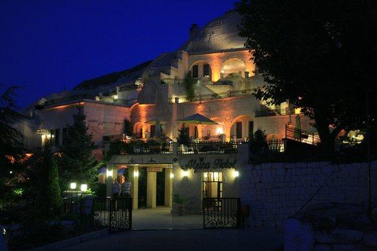 Alfina Hotel: Vista notturna