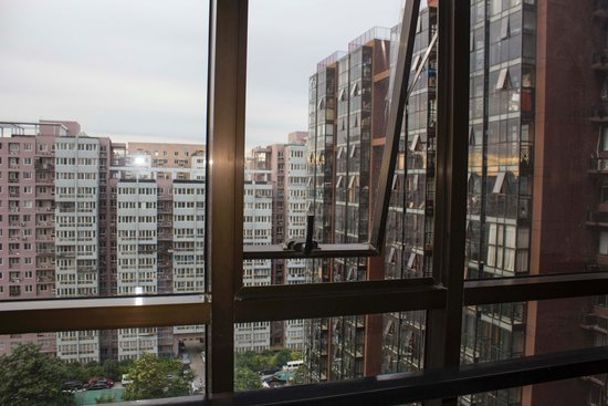 Jinqiao International Apartment Hotel : View from my room (16th Floor)