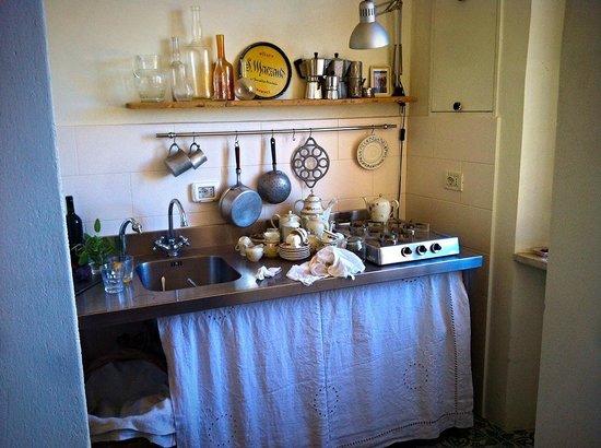 B&B Paradiso no 4: La cucina
