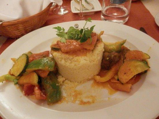 Restaurante Don Sebastiao : cous cous