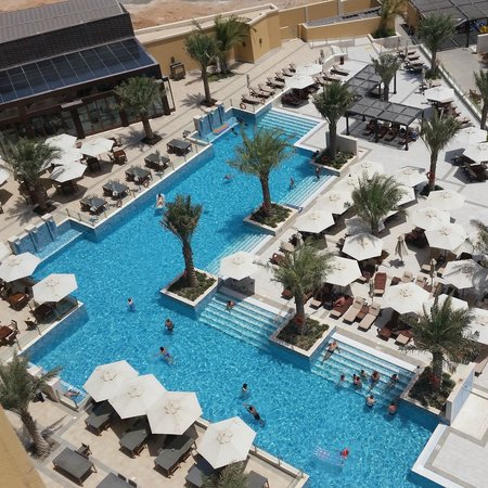 DoubleTree by Hilton Resort & Spa Marjan Island: pool from room