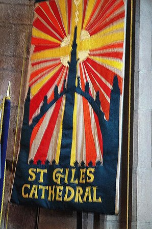St Giles' Cathedral: St Giles Cathedral Flag