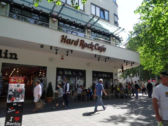 Hard Rock Cafe Berlin: Hard Rock Cafe di Berlino.