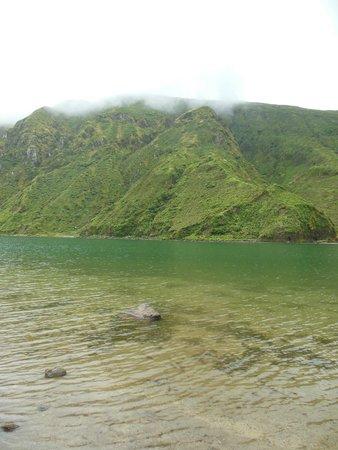 Lagoa do Fogo: bank
