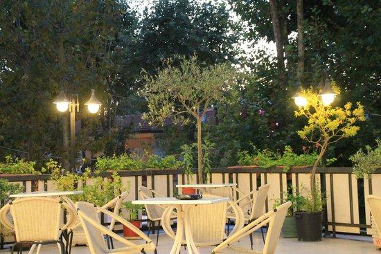 Hotel Miramare et de la Ville: Terrazza