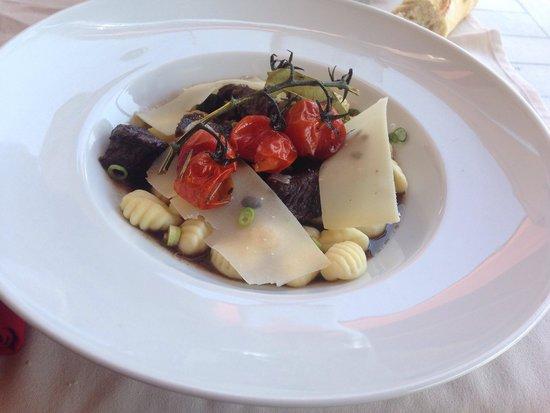 L'Horloge Restaurant: Gnocchis à la daube. Délicieux !