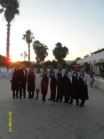 Hotel Kaos: il team sala
