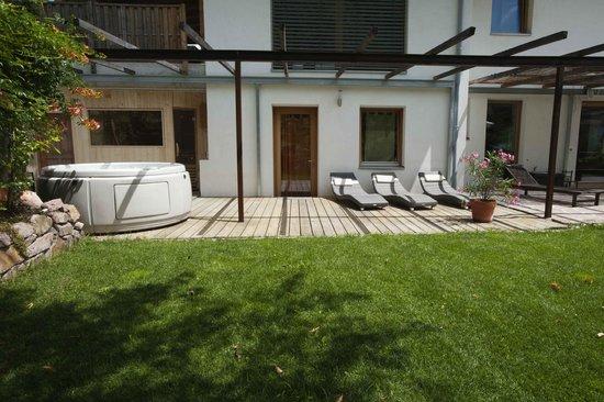Villa Missian : sauna e jacuzzi