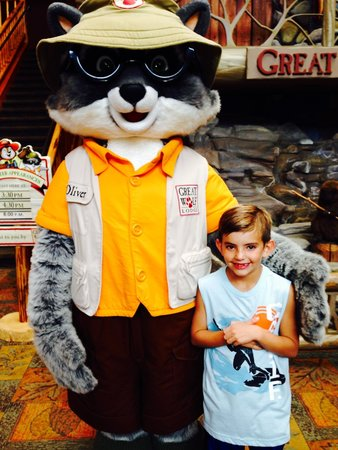 Great Wolf Lodge: Fun with the Wolf!