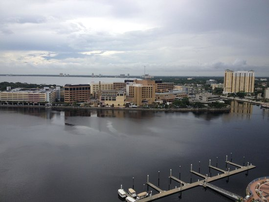 Tampa Marriott Waterside Hotel & Marina: View from balcony