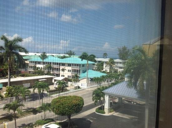 Comfort Suites Seven Mile Beach: view out the window 424