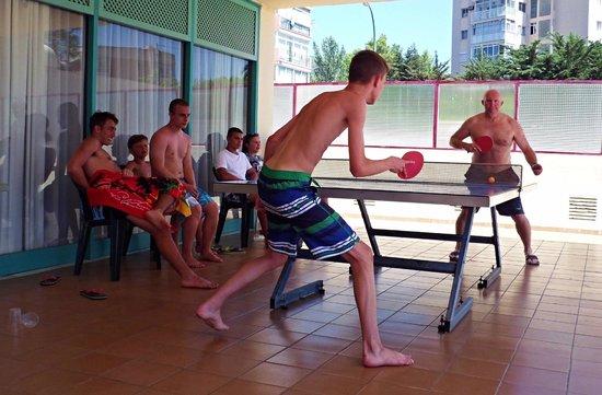 Globales Palmanova: Table tennis tournament