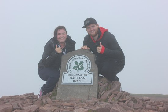 Pen-y-Fan: My Partner and I at the Top