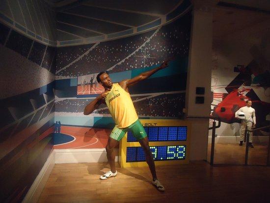 Madame Tussauds London: sport