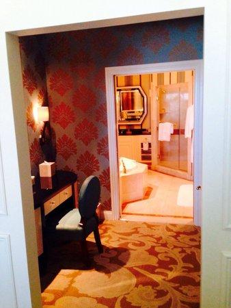 Venetian Resort Hotel Casino: Dressing area