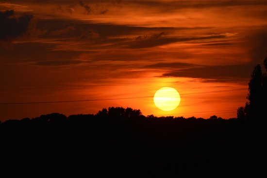 Best Western Plus Coventry Windmill Village Hotel Golf & Spa: Sunset over the golf course