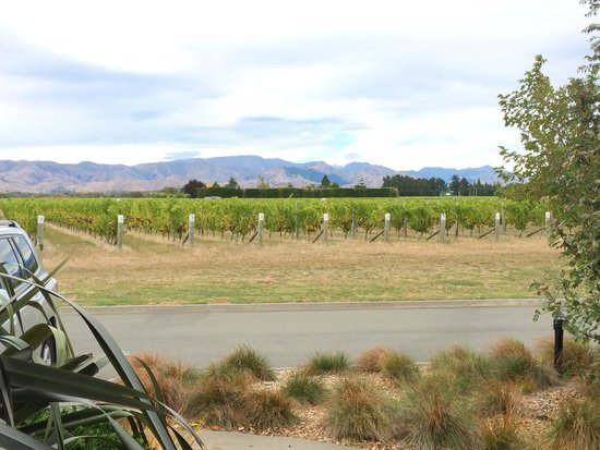 Marlborough Vintners Hotel: Look south from the door to our room