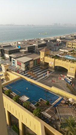 JA Ocean View Hotel: View from window