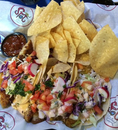 The Spot: Best fish tacos ever!!