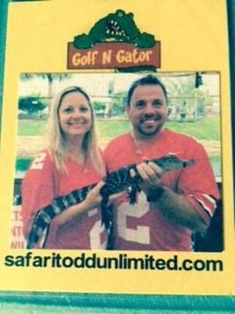 Golf-N-Gator: Fun with the gator