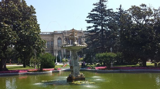 InterContinental Istanbul: Dolmabache Palace Garden