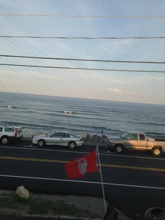 Lobster Cove: View from our table.