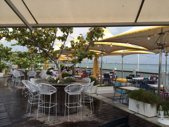 The Standard, Miami : Sitting at the bar