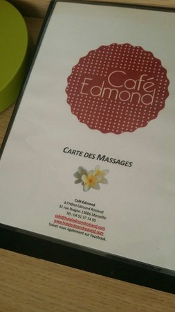 Hôtel Edmond Rostand : Des massages sur demande !