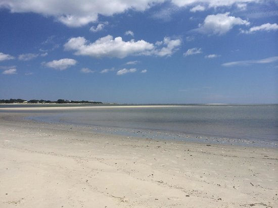North Island Surf and Kayak: Looking back at Tybee