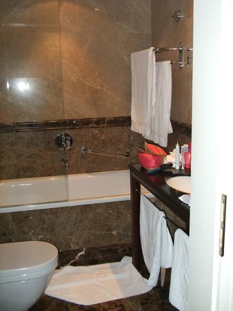 Savic Hotel: Great bathroom with every aamenity