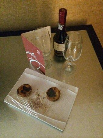 Sheraton Lisboa Hotel & Spa: Cadeaux de bienvenue