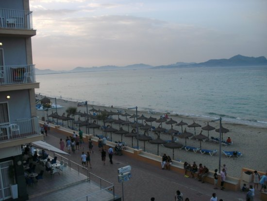 Hotel JS Horitzo: Blick aufs Meer