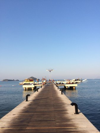 Club Tuana Fethiye: The pier! :)