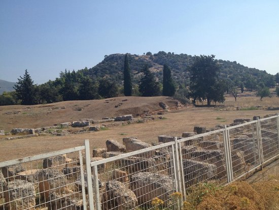 The Ancient Theatre of Eretria