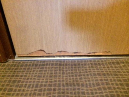 Ibis Styles Colmar Nord (ex Novotel): Our room door