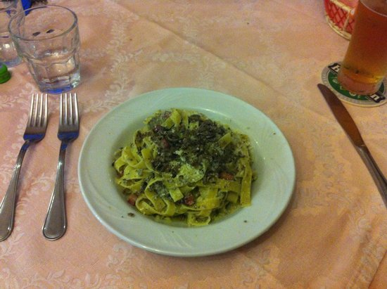 I Segreti del Borgo: carbonara tartufata