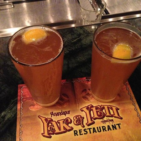 Waldorf Astoria Orlando: Yak and Yeti at Disney's Animal Kingdom.  A great place for a drink and to cool off....