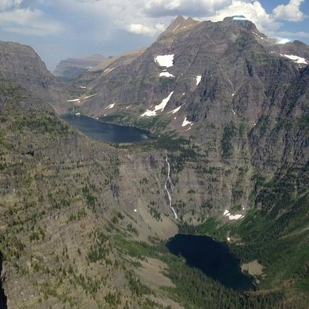 Mountain Cleft Wilderness Retreat: Glacier Heli tour