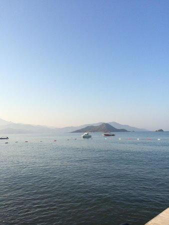 Club Tuana Fethiye: View from the pier! :)