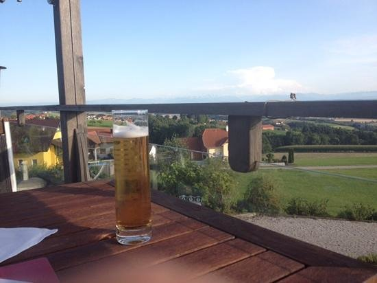 Revita Hotel Kocher: View from the terrace