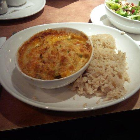 White Spot: Cheese and Brocolli Dish