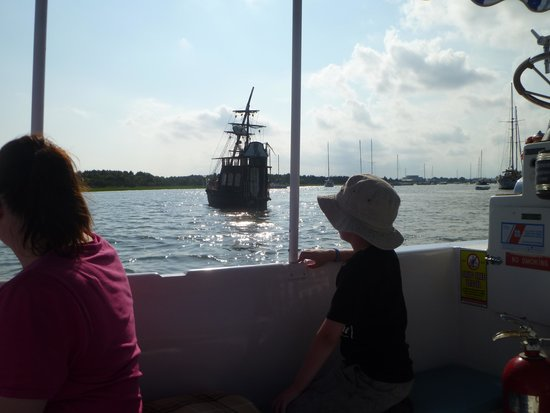 Waterbug Tours: On the boat